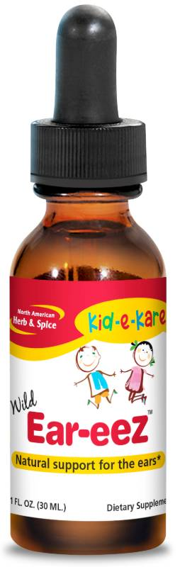 NORTH AMERICAN HERB & SPICE: kid-e-kare EareeZ 1 OUNCE