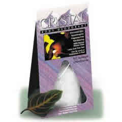 CRYSTAL BODY DEODORANT (French Transit): Crystal Body Deodorant Rock 4-6 oz
