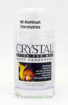 CRYSTAL BODY DEODORANT (French Transit): Crystal Stick For Men 1 stick
