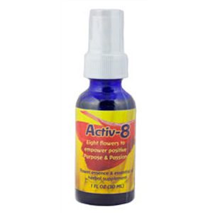 Flower essence: ACTIV-8 SPRAY 1OZ