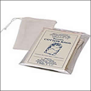FLOWER VALLEY: Reusable Cotton Teabags 3 pk