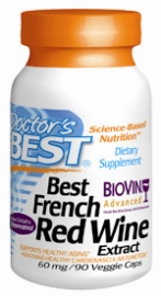 Doctors best: Best french red wine extract 90C