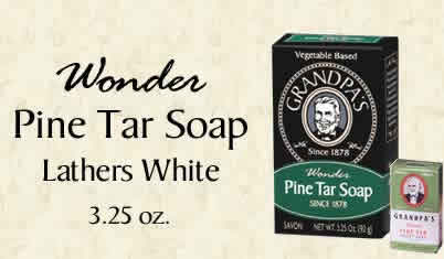 Pine Tar Soap Medium Size