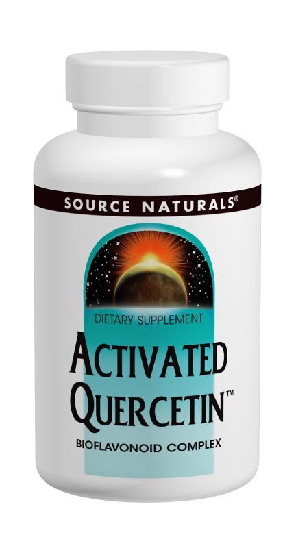 SOURCE NATURALS: Activated Quercetin 200 tabs