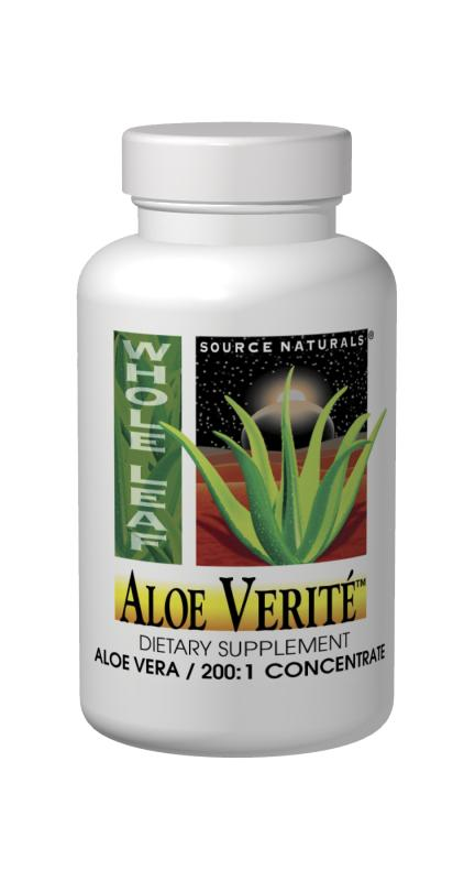 SOURCE NATURALS: Aloe Verite Raspberry with stevia 1 Lt.