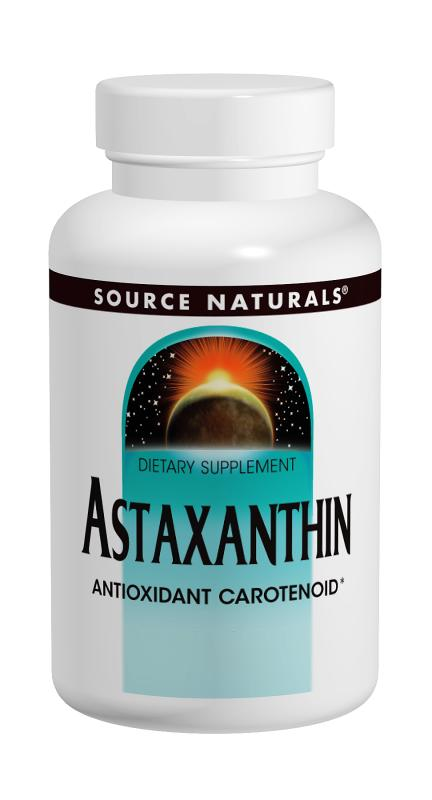 SOURCE NATURALS: Astaxanthin 2mg softgel 60 softgels