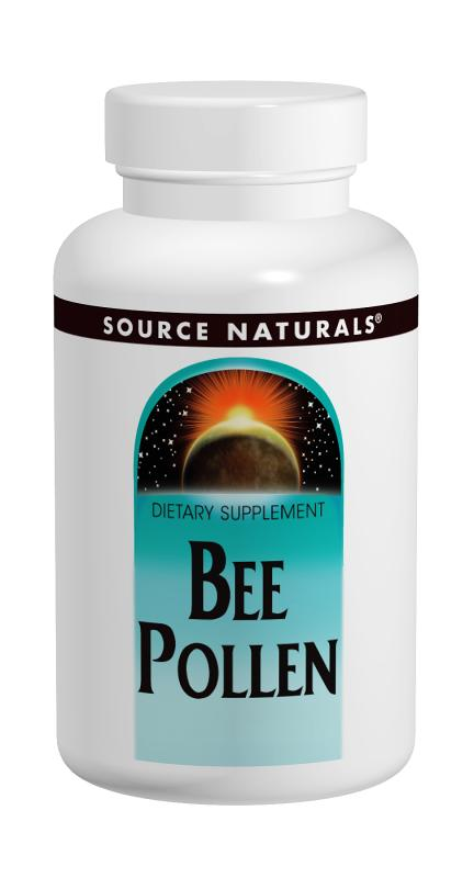 SOURCE NATURALS: Bee Pollen 500 mg 100 tabs