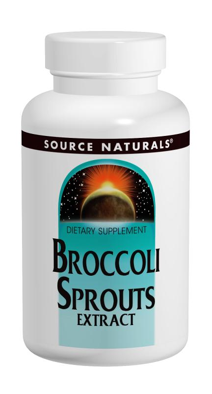 SOURCE NATURALS: Broccoli Sprouts 60 tabs