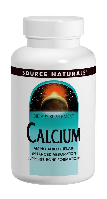 SOURCE NATURALS: Calcium 200 mg 100 tabs