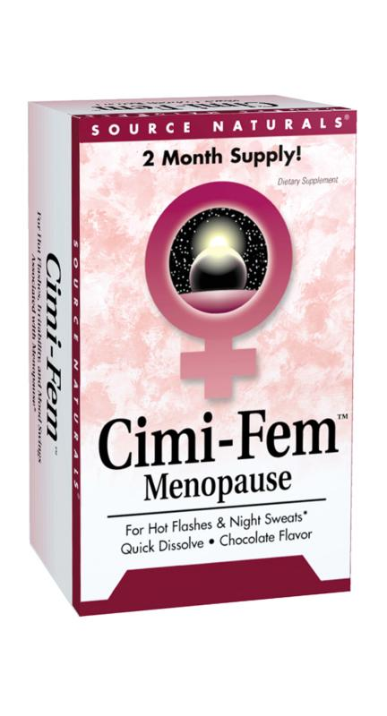 SOURCE NATURALS: Cimi-Fem Sublingual (Eternal Woman) 60 tabs- 80 mg