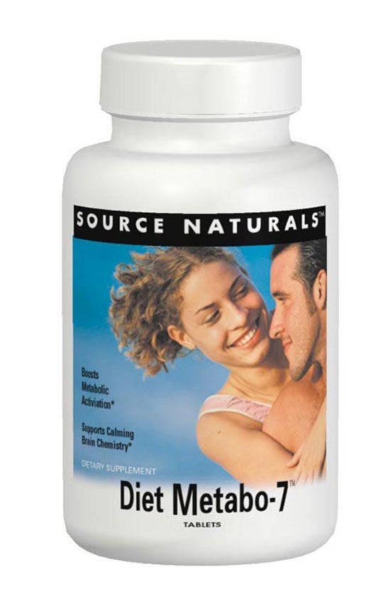 SOURCE NATURALS: Diet Metabo-7 90 tabs