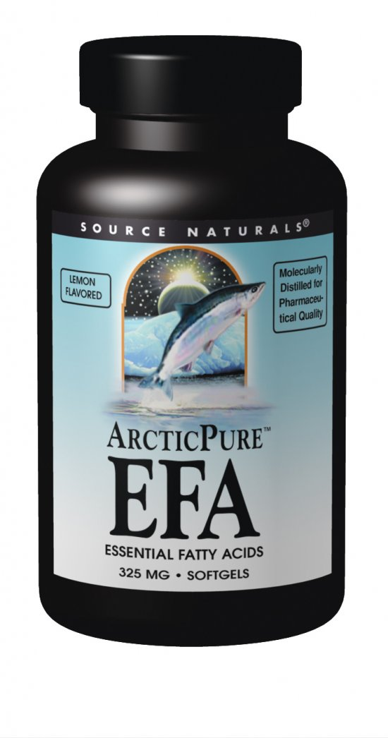 SOURCE NATURALS: Arctic Pure Pro EFA (lemon) 60 sg