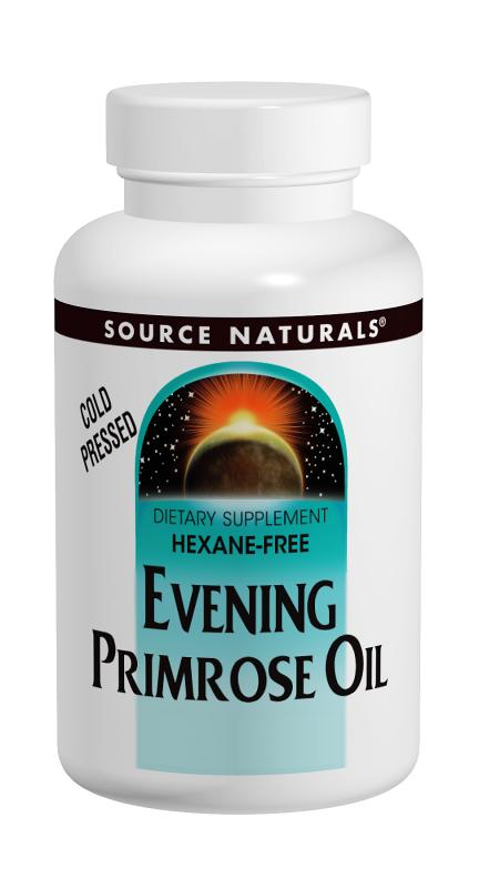 SOURCE NATURALS: Evening Primrose Oil 500 mg 60 SG