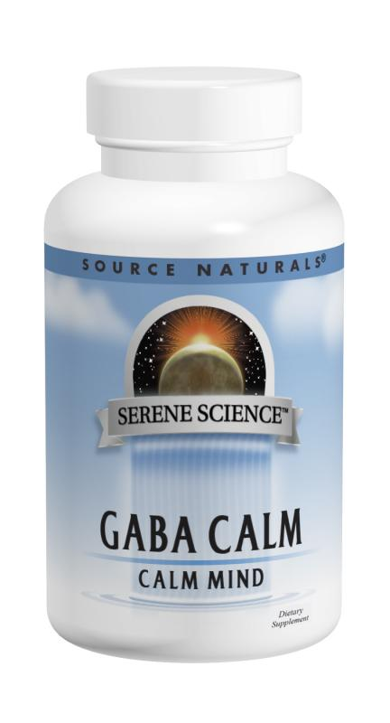 SOURCE NATURALS: GABA Calm Sublingual Orange 60 tabs