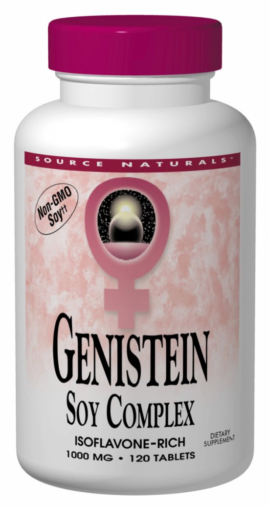 SOURCE NATURALS: Genistein 1000 mg (Eternal Woman) 120 tabs