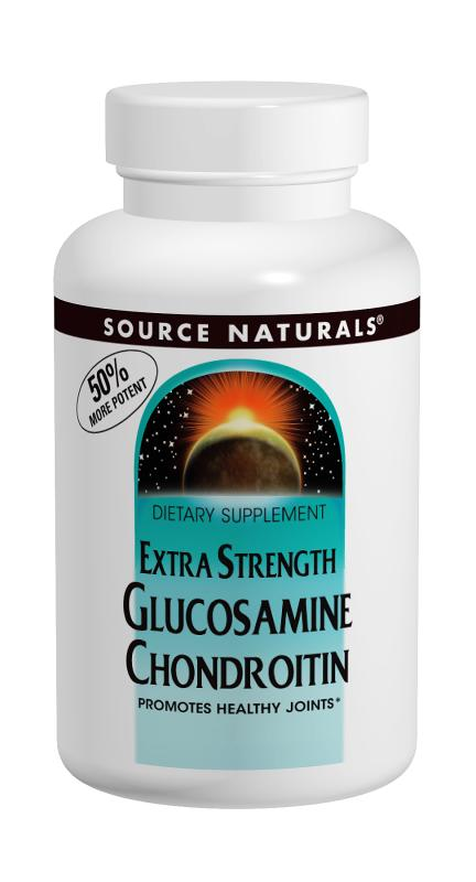 SOURCE NATURALS: Glucosamine Chondroitin Extra Strength 60 tabs