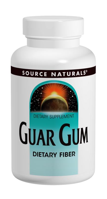 SOURCE NATURALS: Guar Gum Powder 8 oz