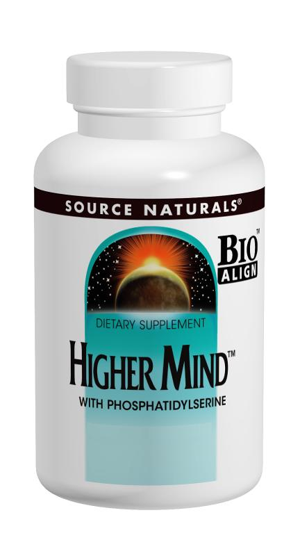 SOURCE NATURALS: Higher Mind 120 tabs