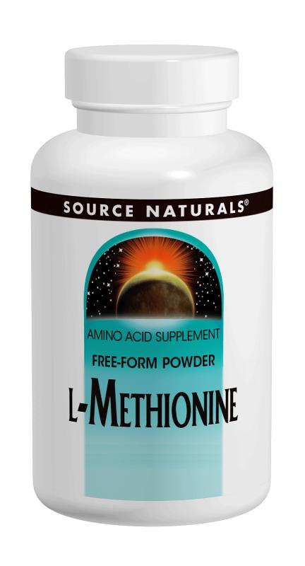 SOURCE NATURALS: L-Methionine Powder 100 gm 3.53 oz