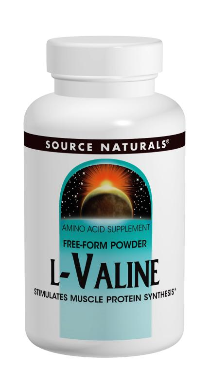 SOURCE NATURALS: L-Valine Powder 100 gm 3.53 oz