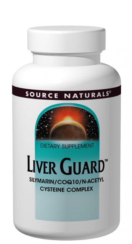 SOURCE NATURALS: Liver Guard 120 tabs