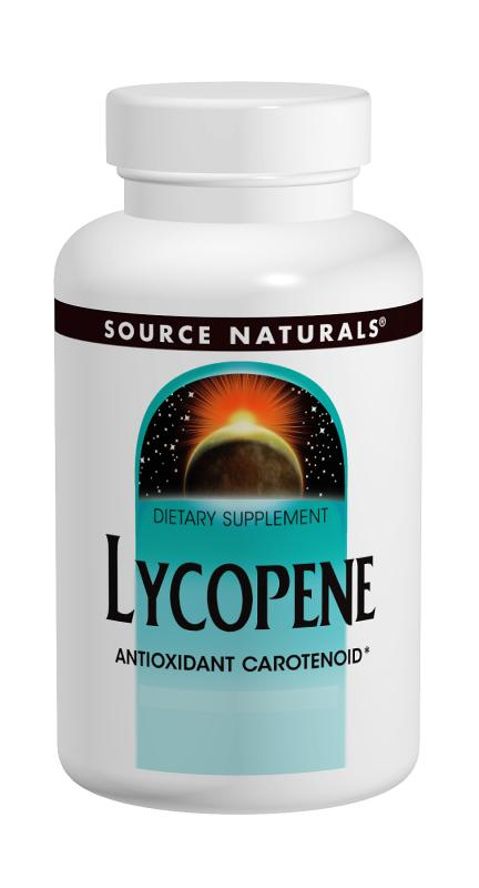 SOURCE NATURALS: Lycopene 5 mg softgels 30 SG