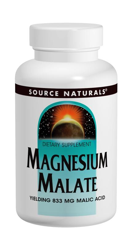 Source naturals: Magnesium malate 200 caps