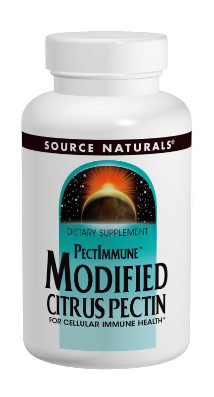 SOURCE NATURALS: Modified Citrus Pectin 120 Capsules