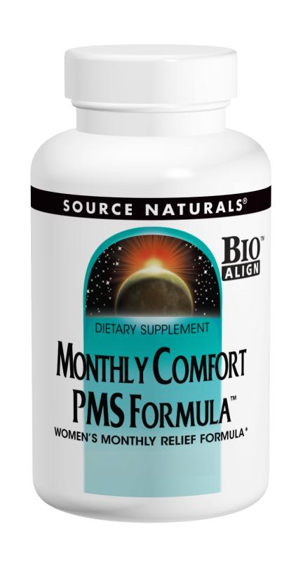 SOURCE NATURALS: Monthly Comfort 90 tabs