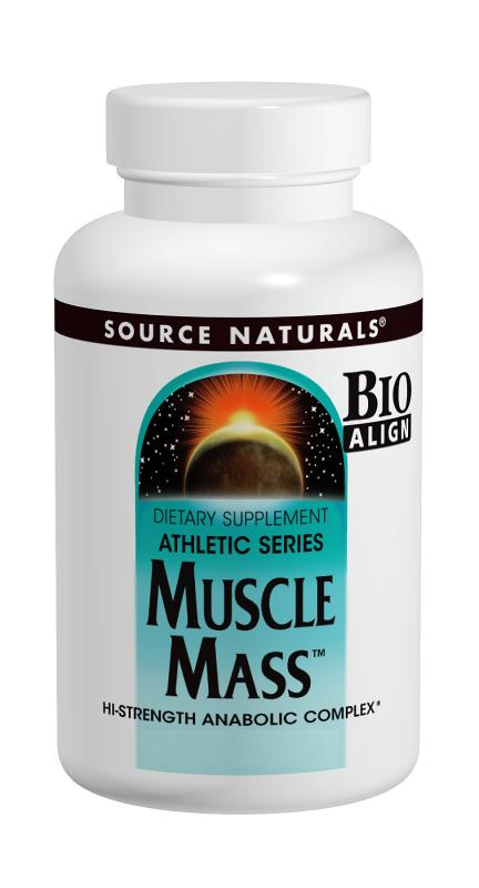 SOURCE NATURALS: Muscle Mass Anabolic Complex 30 tabs