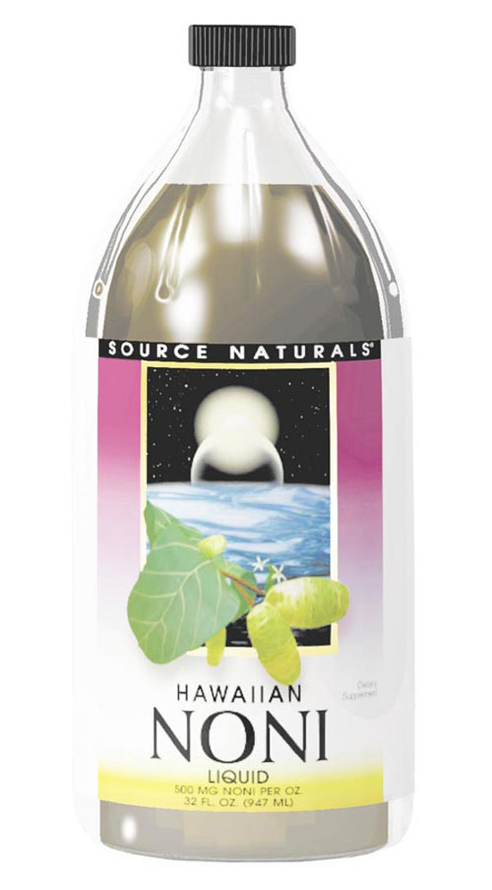 SOURCE NATURALS: Hawaiian Noni Liquid 32 fl oz