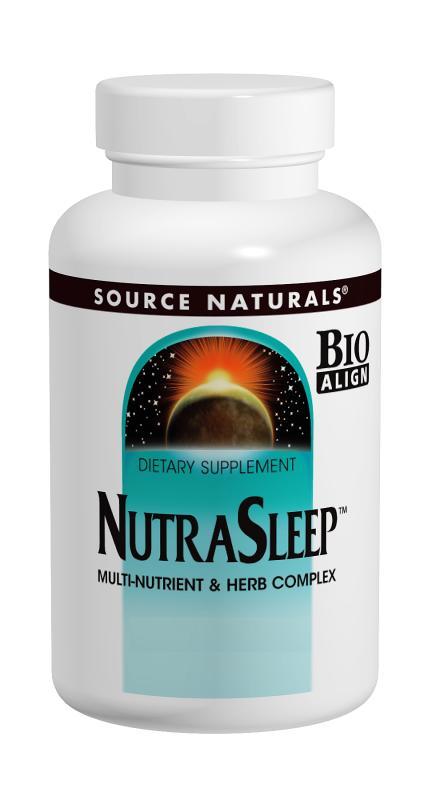 SOURCE NATURALS: NutraSleep 40 tabs