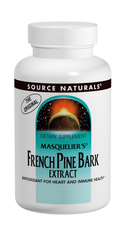 SOURCE NATURALS: OPC-85  Pine Bark Extract 50 mg 60 tabs