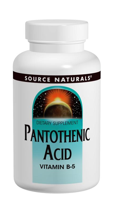 Pantothenic Acid 100 mg, 100 tabs
