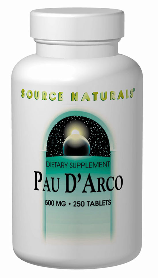 SOURCE NATURALS: Pau D'Arco Liquid Extract 8 fl oz