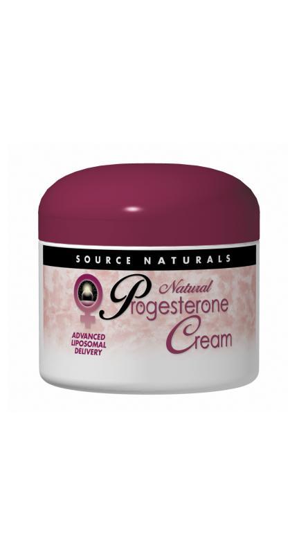 SOURCE NATURALS: Progesterone Cream 4 oz