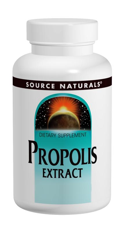 SOURCE NATURALS: Propolis Tincture 50 Percent 1 fl oz