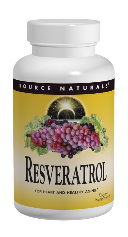 SOURCE NATURALS: Resveratrol 30 tabs