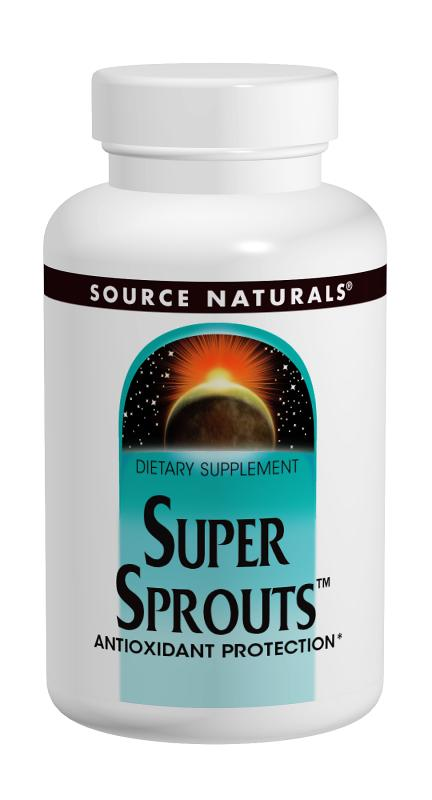 SOURCE NATURALS: Super Sprouts 120 tabs