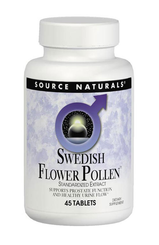 SOURCE NATURALS: Swedish Flower Pollen 45 tabs