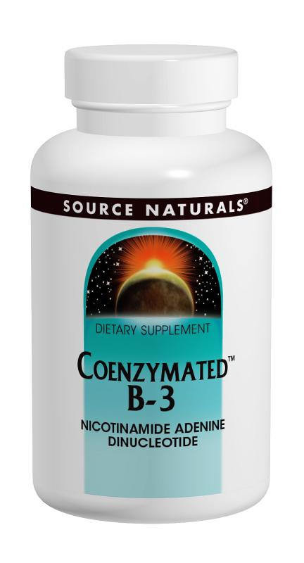 SOURCE NATURALS: Coenzymated B-3 Sublingual 25mg 60 tabs