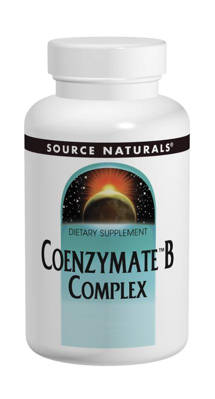 SOURCE NATURALS: Coenzymate B Complex Sublingual Orange 120 tabs