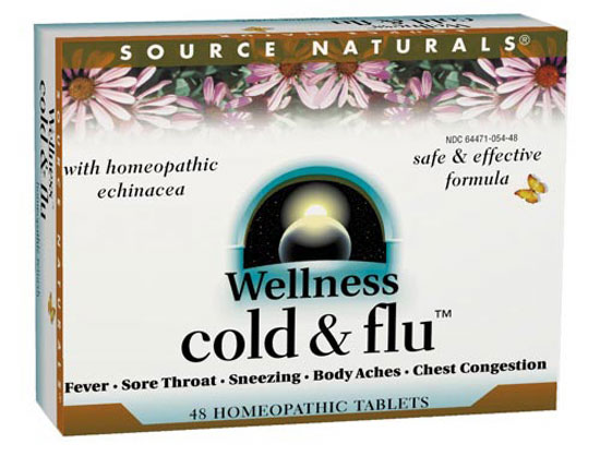 Wellness cold & flu, 48 tabs