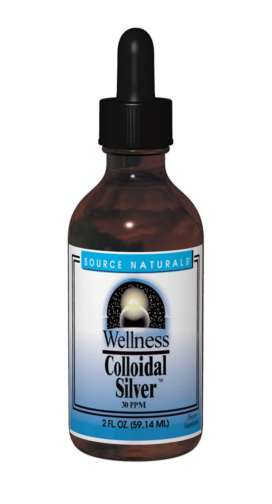 SOURCE NATURALS: Wellness Colloidal Silver 30ppm 4 fl oz
