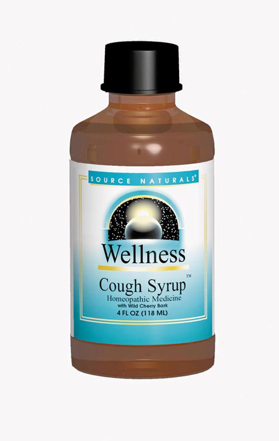 SOURCE NATURALS: Wellness Cough Syrup 4 fl oz