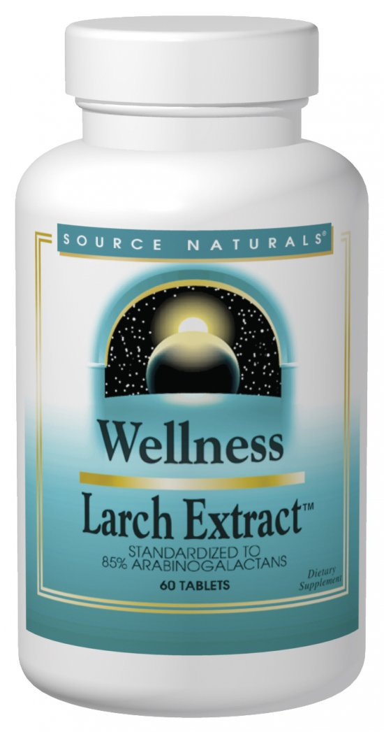 Wellness Larch Extract, 60 tabs