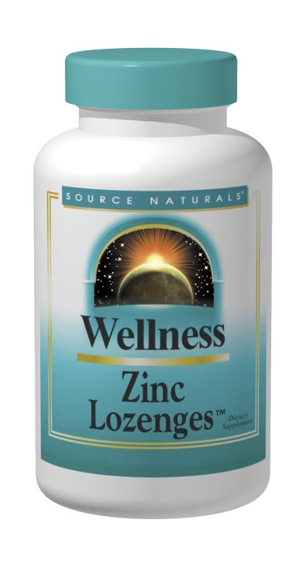 Wellness Zinc Lozenges, 60 tabs