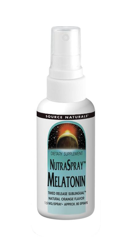 NutraSpray Melatonin 1.5 mg, 2 fl oz