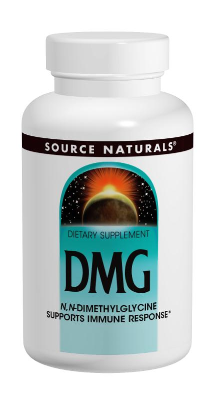 SOURCE NATURALS: DMG 100 mg 30 tabs