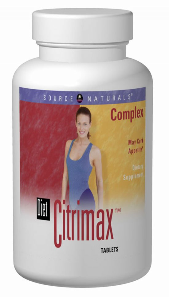 SOURCE NATURALS: Diet CitriMax Complex 120 tabs